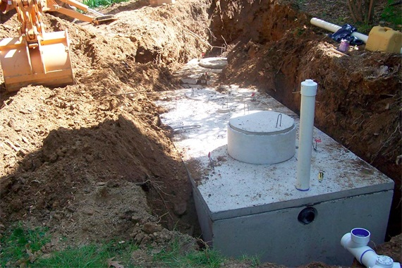 Septic Tank in-ground