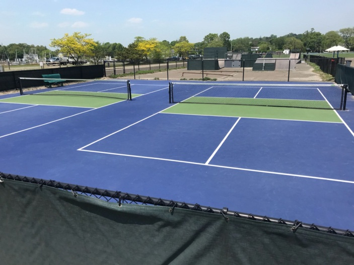Pickleball Courts at Compo 2018