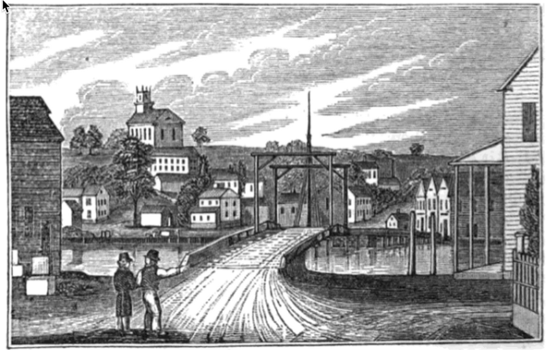 Original Woodcut basis for Westport Town Seal Woodcut
