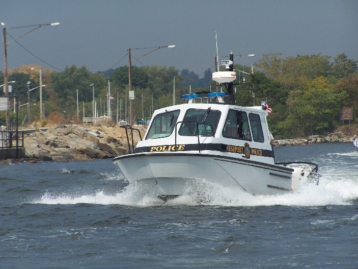 Police Boat Marine One on patrol