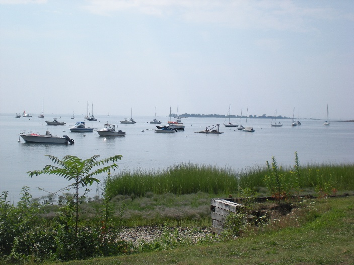 longshore boats by the shore