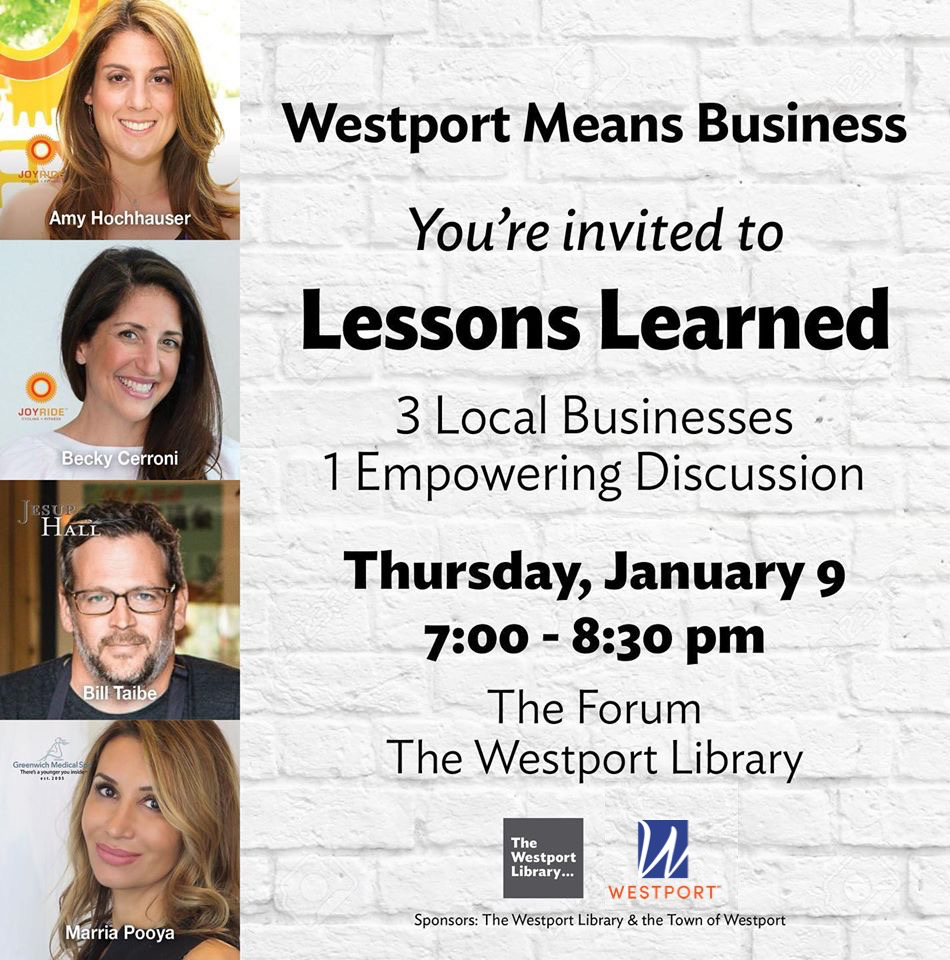 Westport Means Business Jan 9 Event