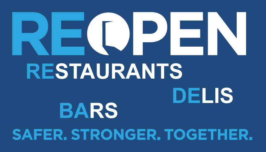 reopen restaurants logo